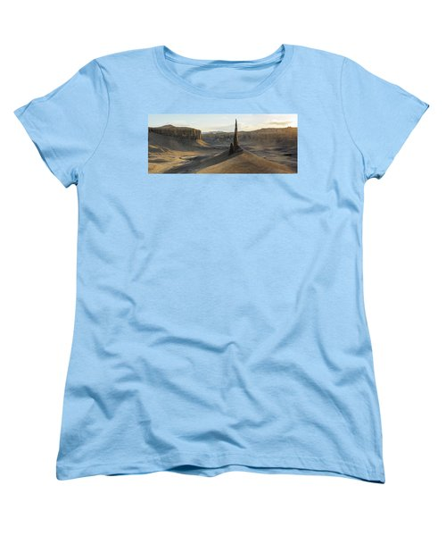 Women's T-Shirt (Standard Cut) featuring the photograph Inspired Light by Dustin LeFevre
