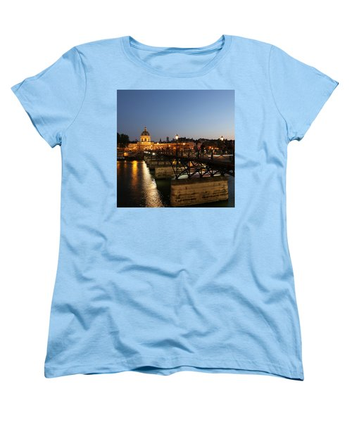 Women's T-Shirt (Standard Cut) featuring the photograph Institute Of France by Andrew Fare