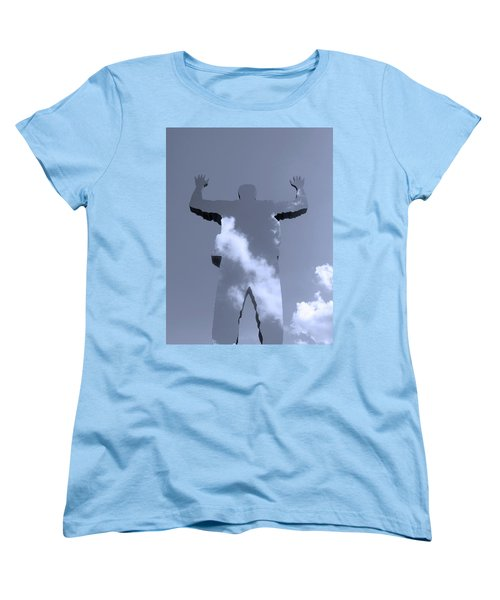 Women's T-Shirt (Standard Cut) featuring the photograph Invisible ... by Juergen Weiss