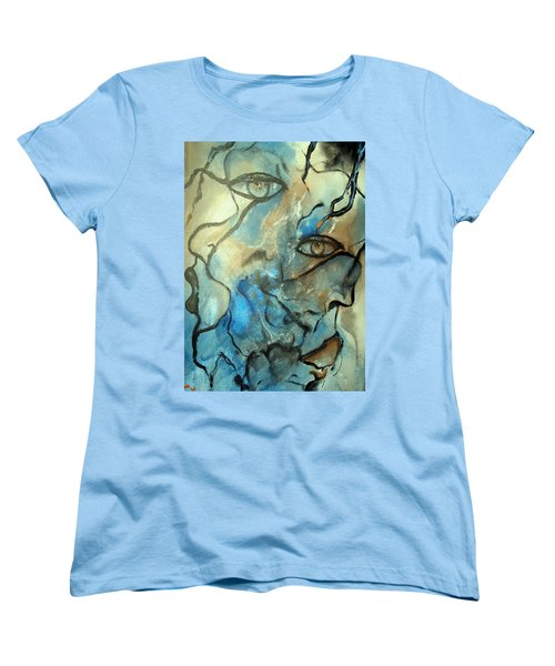 Inward Vision Women's T-Shirt (Standard Cut) by Raymond Doward
