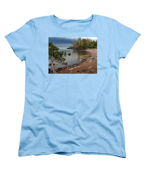 Women's T-Shirt (Standard Cut) featuring the photograph Iona's Beach by James Peterson