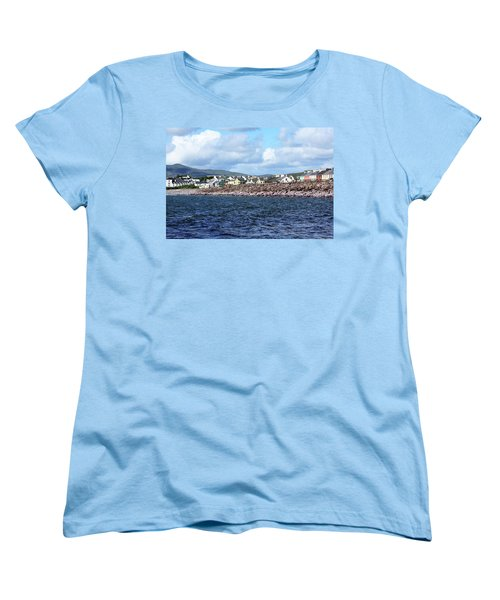 Irish Seaside Village - Co Kerry  Women's T-Shirt (Standard Cut) by Aidan Moran