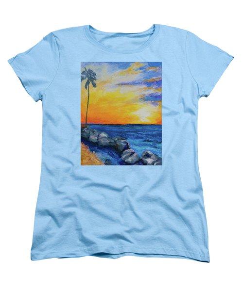 Island Time Women's T-Shirt (Standard Cut) by Stephen Anderson