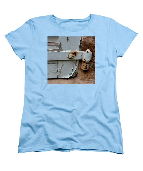 It All Hinges On Women's T-Shirt (Standard Cut) by Lainie Wrightson