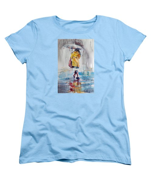 It Is Raining Women's T-Shirt (Standard Cut)