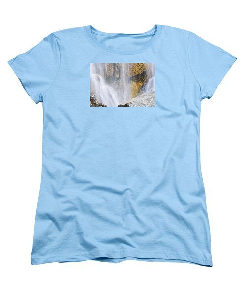Women's T-Shirt (Standard Cut) featuring the photograph It Is Watching by Janie Johnson