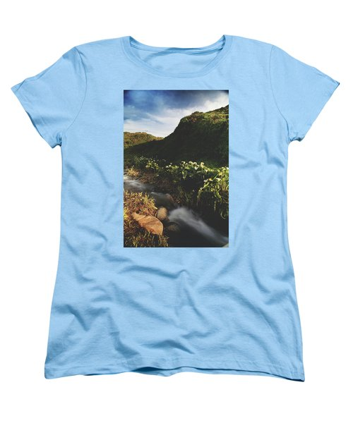 Women's T-Shirt (Standard Cut) featuring the photograph It Was A Hard Winter by Laurie Search