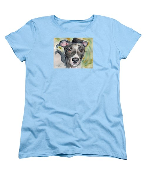 Italian Greyhound Watercolor Women's T-Shirt (Standard Fit)