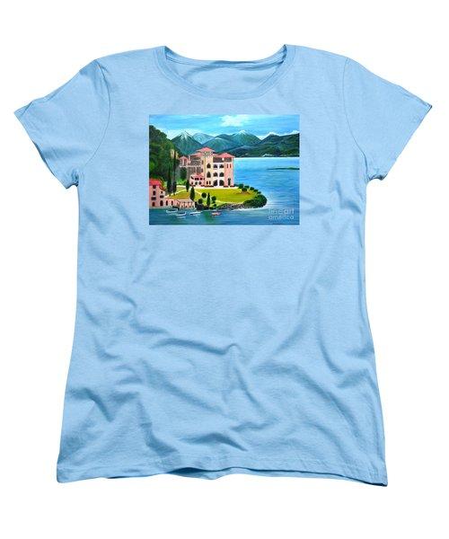 Italian Landscape-casino Royale Women's T-Shirt (Standard Cut)