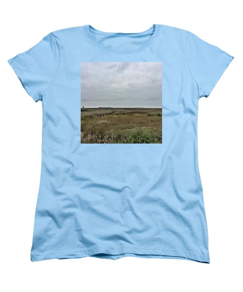 It's A Grey Day In North Norfolk Today Women's T-Shirt (Standard Cut) by John Edwards