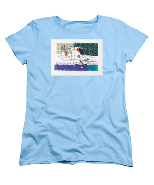 Its All About Me Women's T-Shirt (Standard Cut) by Leela Payne