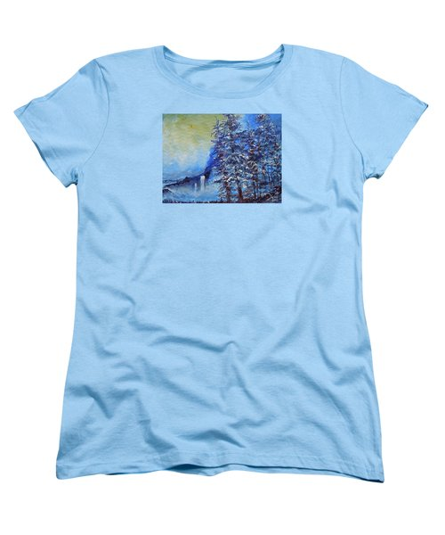 It's Cold Out Women's T-Shirt (Standard Cut) by Dan Whittemore
