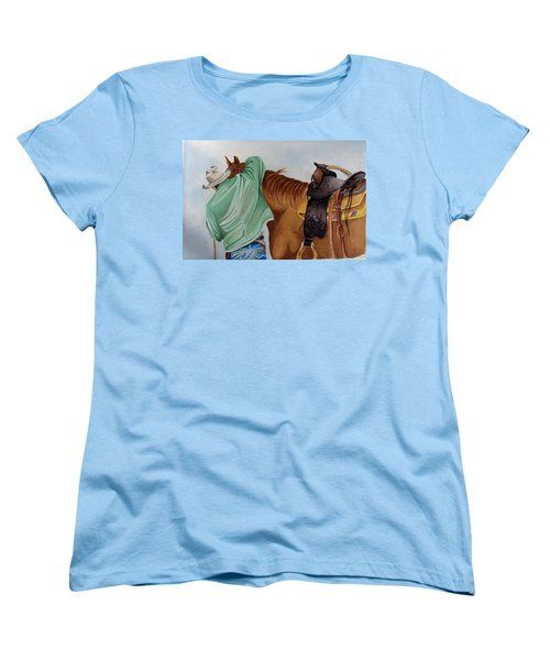 Its Just Us Women's T-Shirt (Standard Cut) by Jimmy Smith