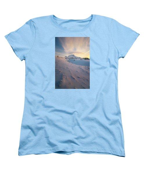 It's Not Spring Yet Women's T-Shirt (Standard Cut) by Ryan Manuel