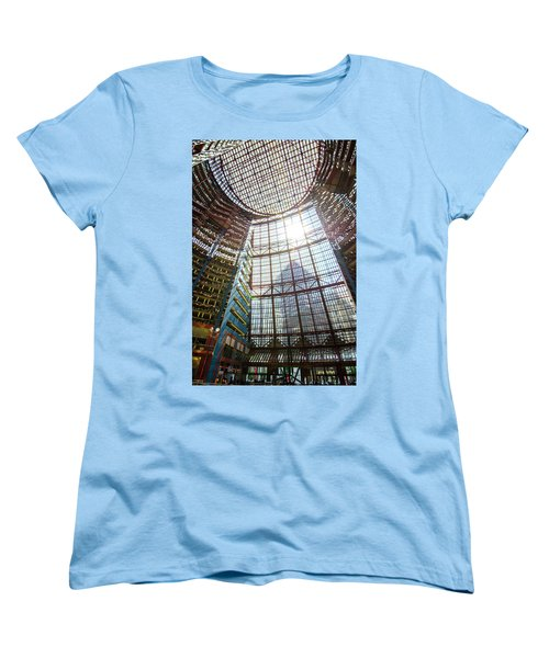 James R Thompson Center Interior II Chicago Women's T-Shirt (Standard Cut) by Deborah Smolinske