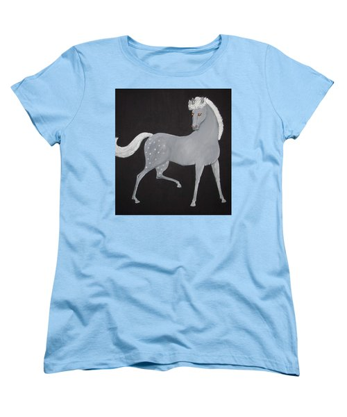 Japanese Horse 2 Women's T-Shirt (Standard Cut) by Stephanie Moore