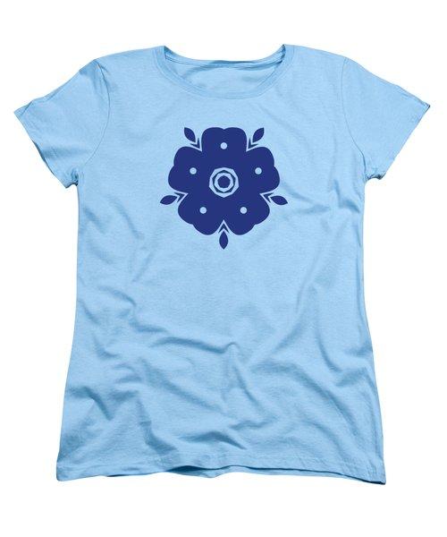 Japanese Samurai Flower Women's T-Shirt (Standard Fit)