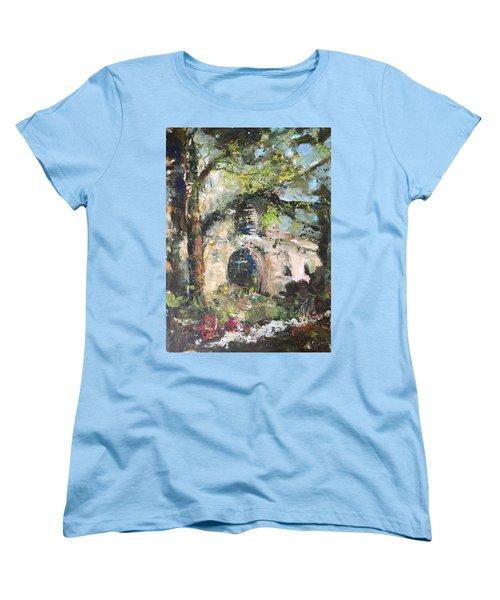Jardin D'au Paradis  Women's T-Shirt (Standard Cut) by Robin Miller-Bookhout