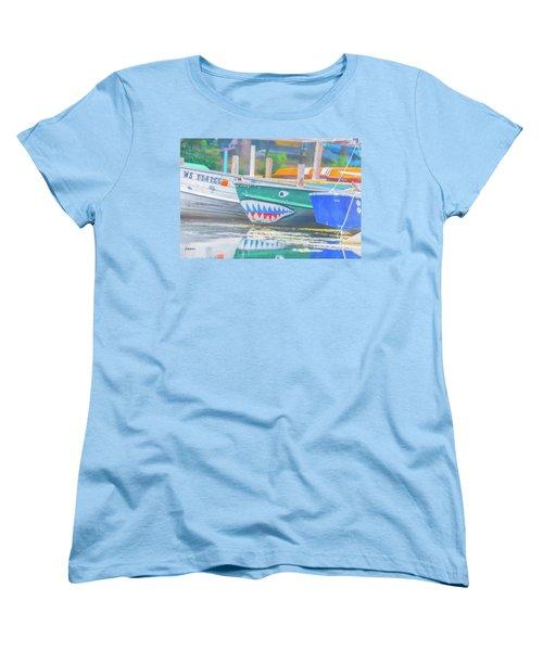 Jaws Women's T-Shirt (Standard Cut) by Pamela Williams