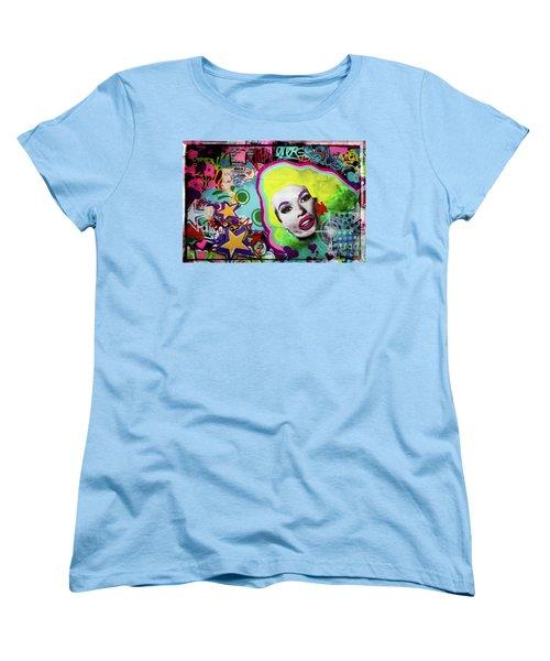 Women's T-Shirt (Standard Cut) featuring the photograph Jayne Mansfield - Pop Art by Colleen Kammerer