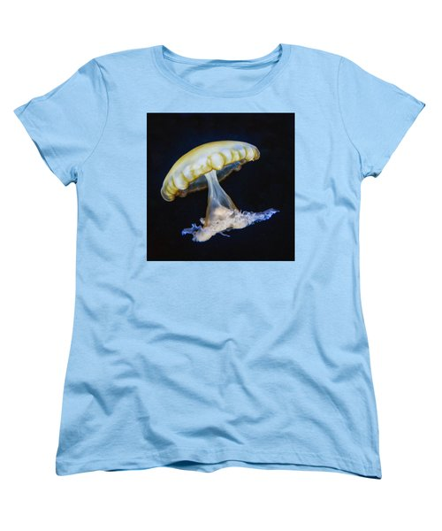Jellyfish No. 1 Women's T-Shirt (Standard Cut) by Alan Toepfer