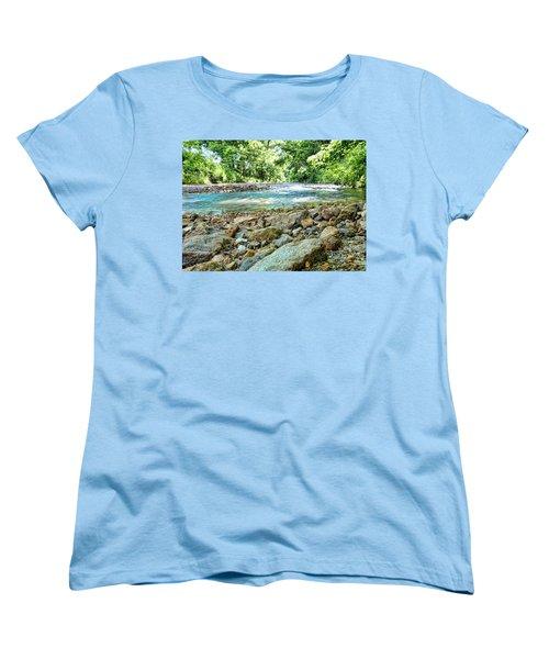 Women's T-Shirt (Standard Cut) featuring the photograph Jemerson Creek by Cricket Hackmann