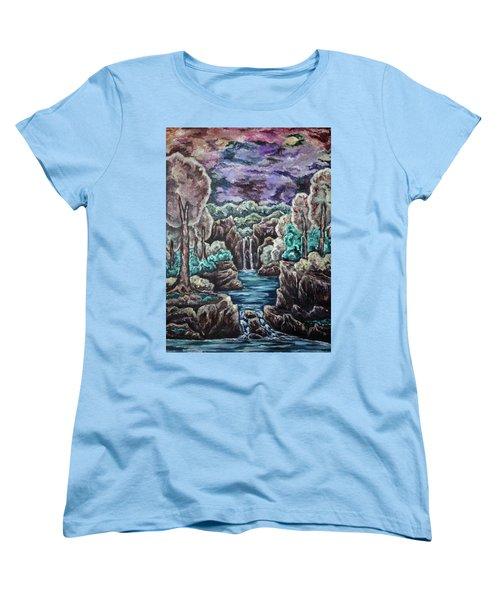 Jewels Of The Valley Women's T-Shirt (Standard Cut) by Cheryl Pettigrew