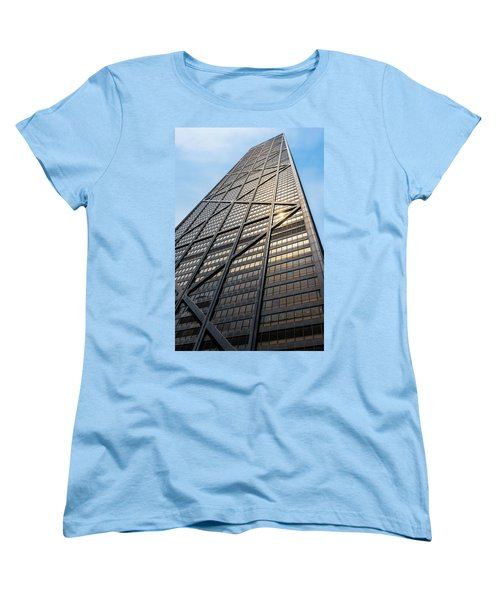 John Hancock Center Chicago Women's T-Shirt (Standard Cut) by Steve Gadomski
