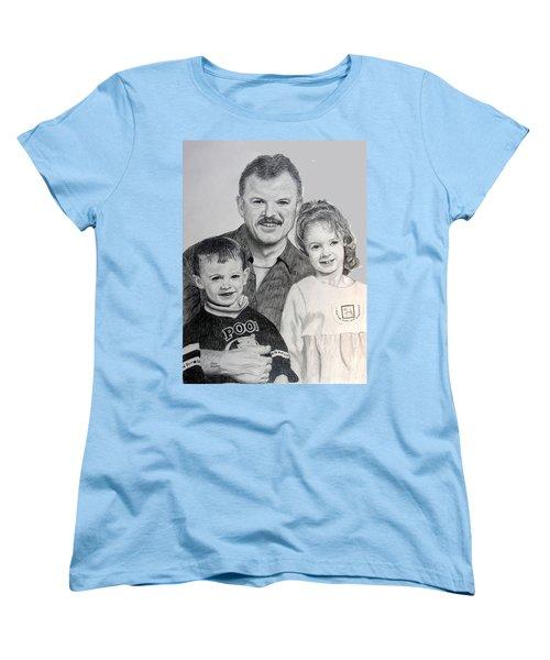 John Megan And Joey Women's T-Shirt (Standard Cut) by Stan Hamilton