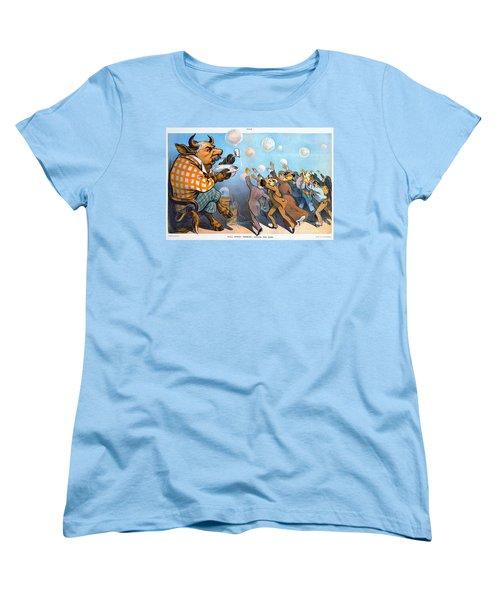 John Pierpont Morgan Women's T-Shirt (Standard Cut) by Granger