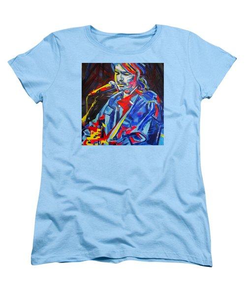 John Prine #3 Women's T-Shirt (Standard Cut) by Eric Dee