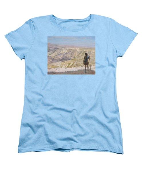 John The Baptist In The Desert Women's T-Shirt (Standard Cut)
