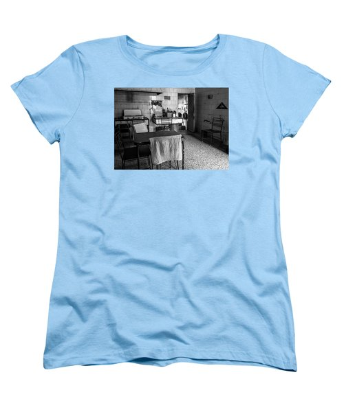 Women's T-Shirt (Standard Cut) featuring the photograph Josie's Kitchen Havana Cuba by Joan Carroll