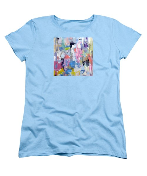 Women's T-Shirt (Standard Cut) featuring the painting Journal by Katie Black