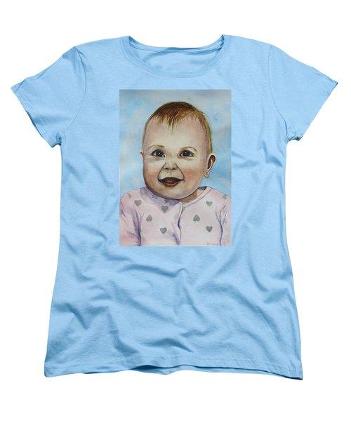 Julianna Women's T-Shirt (Standard Cut) by Betty-Anne McDonald
