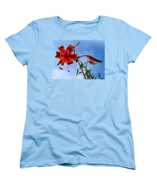 Women's T-Shirt (Standard Cut) featuring the photograph July by Joy Nichols