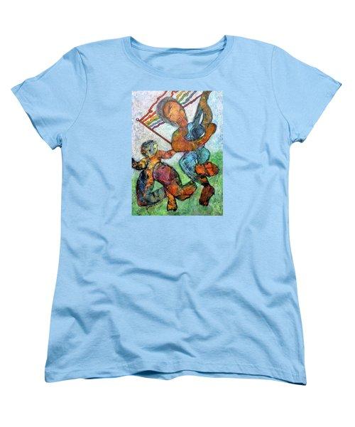 Jump For Joy Women's T-Shirt (Standard Cut) by Jim Whalen