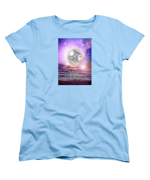June Birthstone Pearl Women's T-Shirt (Standard Cut)