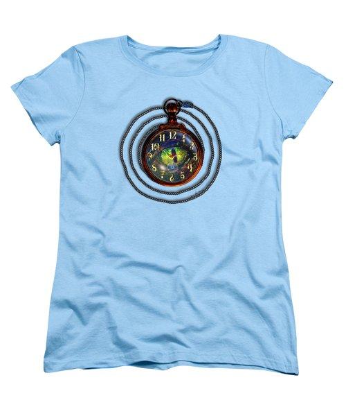 Just A Matter Of Time Women's T-Shirt (Standard Cut) by Iowan Stone-Flowers