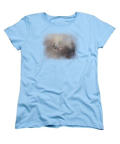 Just A Whisper Of Feathers Women's T-Shirt (Standard Cut) by Jai Johnson