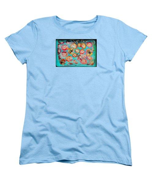 Just Bee Women's T-Shirt (Standard Cut) by DAKRI Sinclair