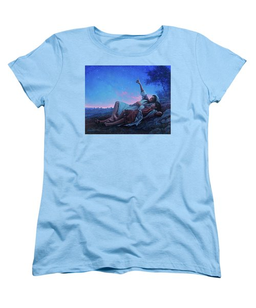 Women's T-Shirt (Standard Cut) featuring the painting Just For A Moment by Greg Olsen