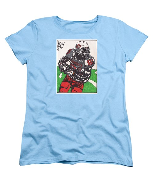 Justin Blackmon 2 Women's T-Shirt (Standard Cut) by Jeremiah Colley