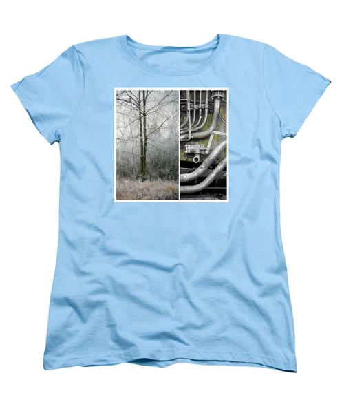 Juxtae #61 Women's T-Shirt (Standard Cut) by Joan Ladendorf
