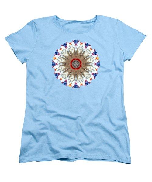 Women's T-Shirt (Standard Cut) featuring the photograph Kaleidos - Ptown02 by Jack Torcello