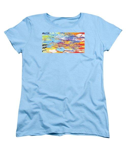Kaleidoscope Women's T-Shirt (Standard Cut) by Ralph White