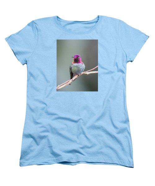 Karisa's Hummingbird.1 Women's T-Shirt (Standard Cut) by E Faithe Lester