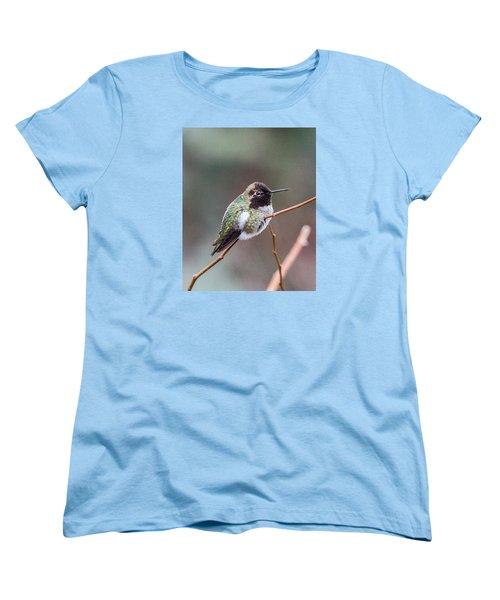 Karisa's Hummingbird.2 Women's T-Shirt (Standard Cut) by E Faithe Lester