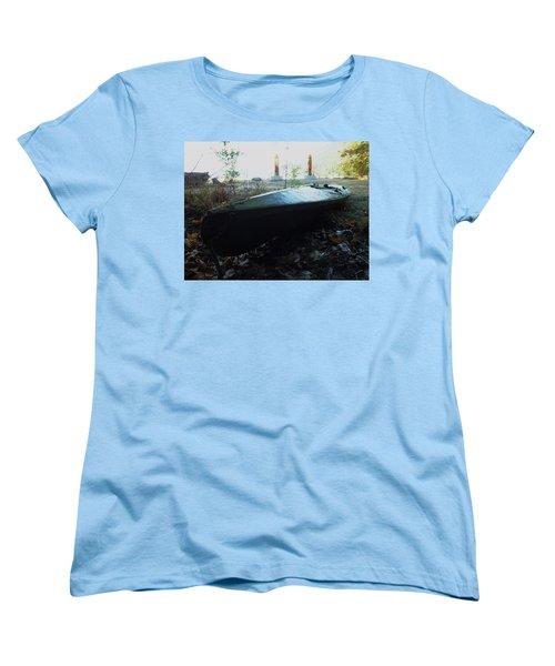 Kayak Women's T-Shirt (Standard Cut) by Mark Alan Perry