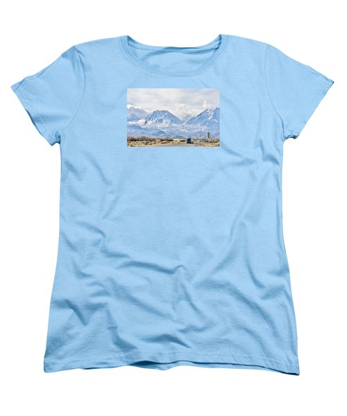 Keep On Trucking Women's T-Shirt (Standard Cut) by Marilyn Diaz